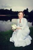 Jeune mariée de femme Photo libre de droits