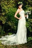 Jeune mariée de lux Photographie stock libre de droits