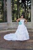 Jeune mariée fâchée Images libres de droits