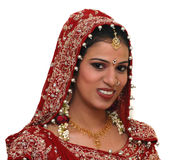 Jeune mariée indienne image libre de droits