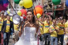 Jeune mariée lesbienne Image libre de droits