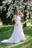 Jeune mariée moderne E images libres de droits
