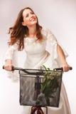 Jeune mariée partie de recyclage Photos libres de droits