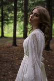 Jeune mariée rustique de Boho Photographie stock libre de droits