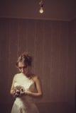 Jeune mariée sanglante Photos stock