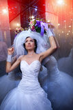 Jeune mariée sexy Photos libres de droits