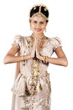 Jeune mariée sri-lankaise Images stock
