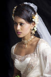 Jeune mariée sri-lankaise Photos stock