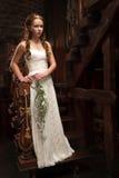 Jeune mariée tendre de jeunes Photos stock