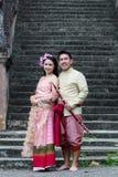 Jeune mariage au public Photo libre de droits