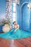 Jeune mariée asiatique Photos stock
