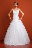 Jeune mariée classique Images stock