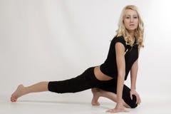 Jeune modèle blond Image stock
