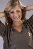 Jeune modèle d'adolescente Photo stock