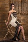 Jeune modèle de brunete Photos stock