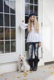 Jeune modèle de mode Image libre de droits