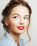 Jeune modèle de mode Image stock