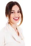 Jeune modèle de sourire de brunette Image stock