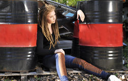 Jeune mode Image stock