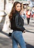 Jeune mode sexy de rue image libre de droits