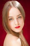 Jeune modèle blond sexy Image libre de droits