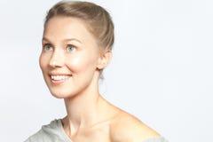 Jeune modèle de mode blond attrayant Images stock