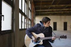 Jeune musicien Image libre de droits