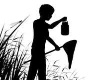 Jeune naturaliste Photographie stock libre de droits