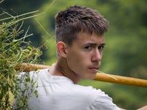 Jeune ouvrier Image libre de droits