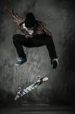 Jeune patineur Images stock