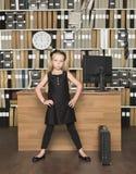 Jeune patron Images stock