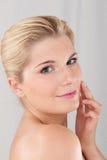 Jeune peau saine Photographie stock