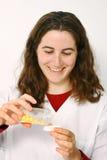 Jeune pharmacien Photo stock