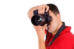 Jeune photographe Photo libre de droits