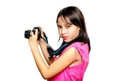 Jeune photographe image libre de droits