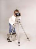 Jeune photographe Photographie stock libre de droits
