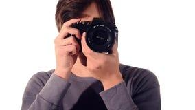 Jeune photographe clips vidéos