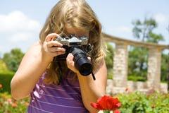 Jeune photographe Photos libres de droits
