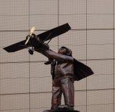 Jeune pilote Images libres de droits