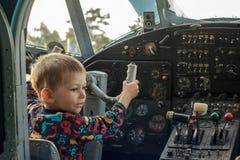 Jeune pilote Photos libres de droits