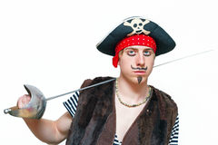 Jeune pirate Photographie stock