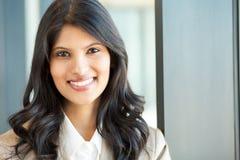 Jeune plan rapproché de femme d'affaires Image libre de droits