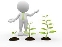 Jeune plante illustration libre de droits