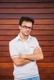Jeune portrait caucasien d'homme Photographie stock libre de droits
