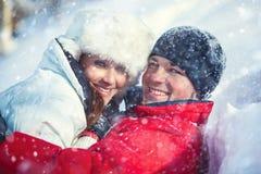 Jeune portrait de couples Image stock