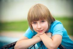 Jeune portrait de garçon Photos stock