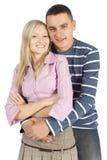 Jeune position de couples images libres de droits