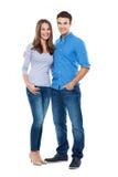 Jeune position de couples Photos libres de droits