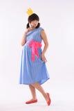 Jeune princesse enceinte Photo libre de droits