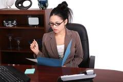 Jeune professionnel au travail Image libre de droits